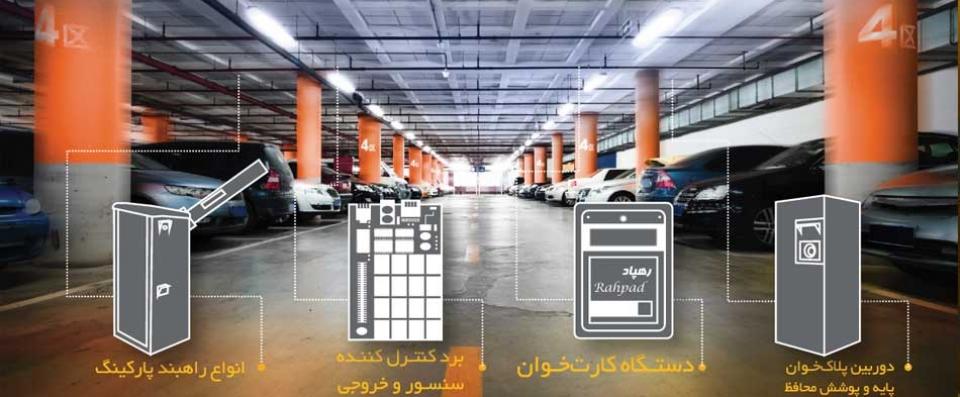 سامانه مدیریت و کنترل ترددخودرو[نسخه پارکینگی]